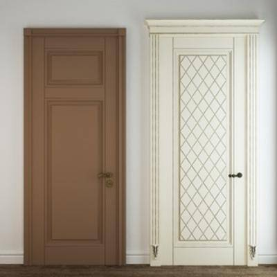 原创, 现代简约, 门, 构件, 原创模型, 构件门