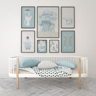 沙发,组合,挂画,北欧简约