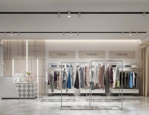 现代, 服装店
