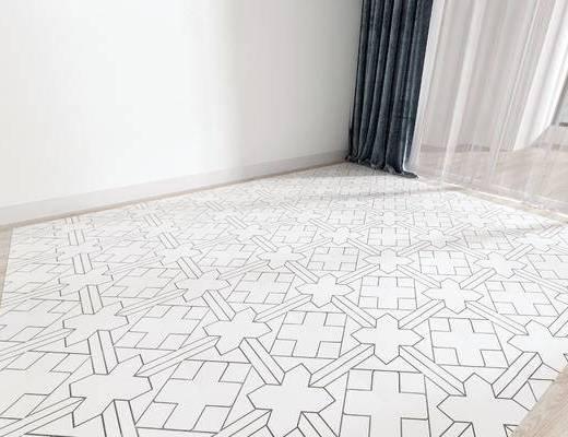 现代地板, 地板, 地面