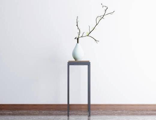 新中式摆件, 摆件, 盆栽