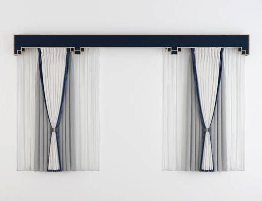 新中式窗帘, 窗帘