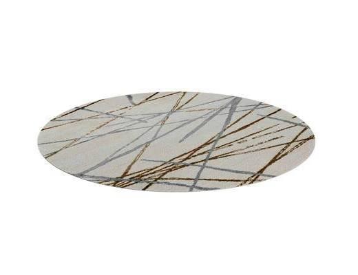 现代地毯, 地毯, 圆形地毯