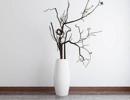 中式花瓶, 花瓶, 摆件