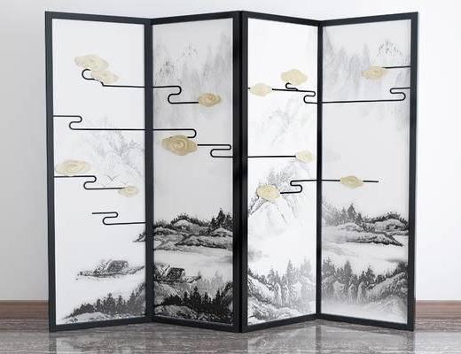 中式屏风, 屏风