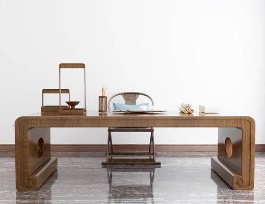 中式书桌, 书桌