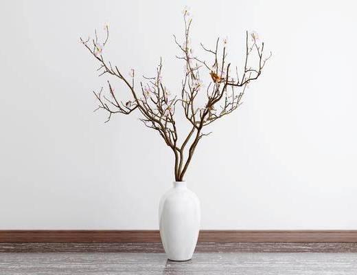 新中式花瓶, 花瓶, 摆件