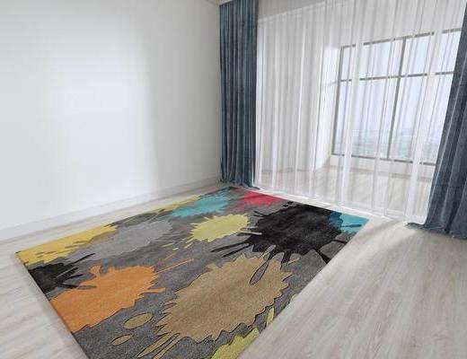 北欧地毯, 地毯