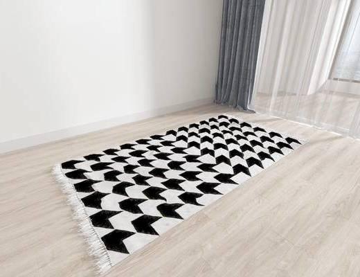 北欧地毯, 地毯, 方形地毯