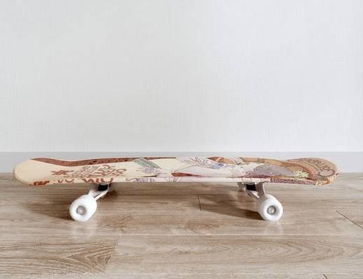 现代滑板, 滑板