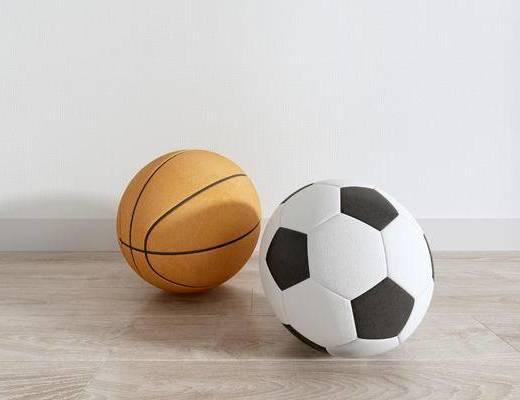 篮球, 足球