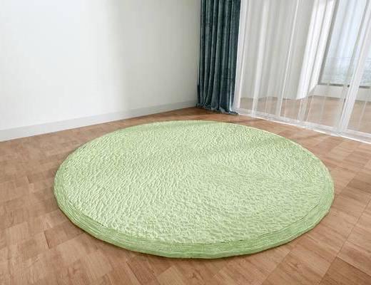 北欧地毯, 地毯, 圆形地毯