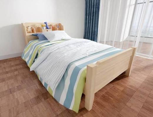 北歐兒童床, 兒童床