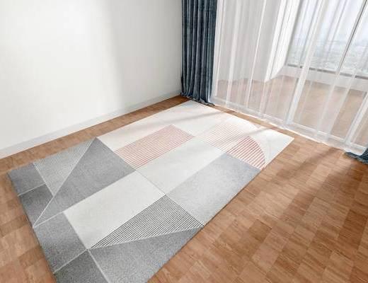 北歐地毯, 地毯, 方形地毯