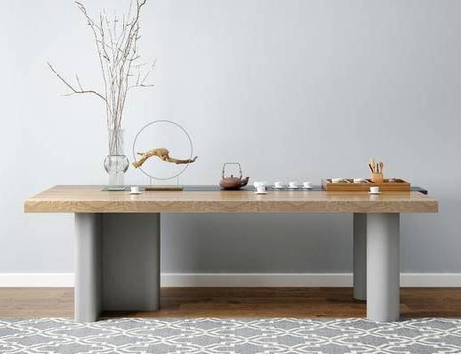 新中式桌子, 桌子