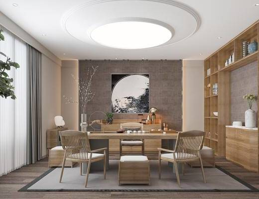 新中式茶室, 茶室