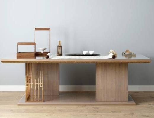 新中式书桌, 书桌