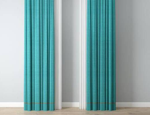 中式窗帘, 窗帘