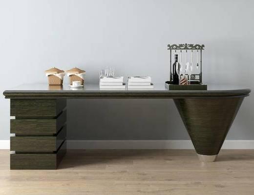 美式书桌, 书桌