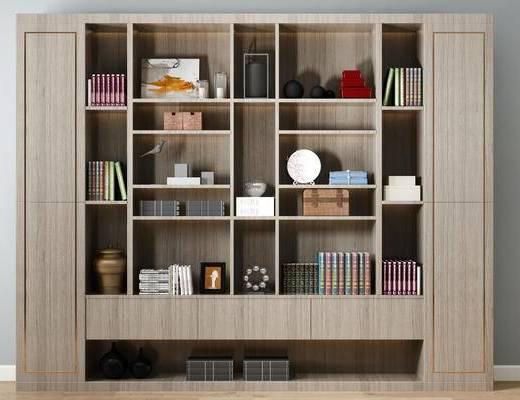 新中式书柜, 书柜
