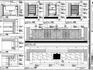 HBA-洲际海棠湾三亚样板房施工图
