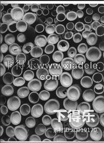 海因斯多夫的竹子建筑_3d模型