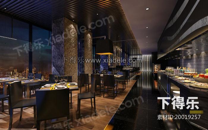 自助餐厅设计,餐厅