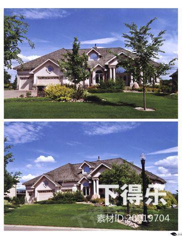 顶级别墅外观(三)1,室外