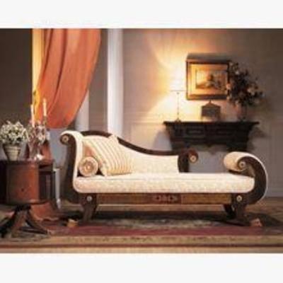 中式贵妃椅, 贵妃椅模型, 贵妃椅