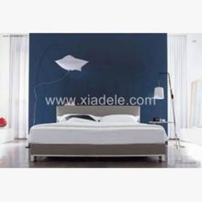 简约木板床, 木板床, 简约, 3D模型下载, 床, 现代床