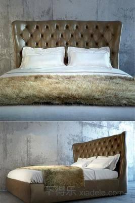 美式简约, 美式床, 简约床, 床具, 床