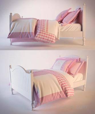 美式床, 单人床, 床具, 小清新