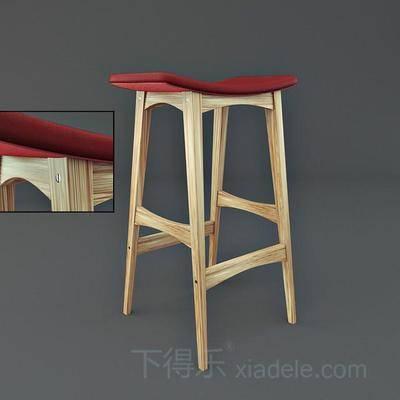 棉麻凳子, 皮革凳子, 单人凳子, 木凳子, 现代创意凳子