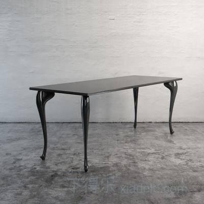 欧式简约, 欧式餐桌, 金属餐桌, 餐桌
