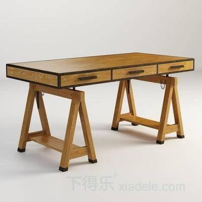 新古典, 新古典餐桌, 复古餐桌, 餐桌, 可调节, 木质餐桌