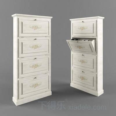 衣物收纳柜, 美式衣柜, 衣柜