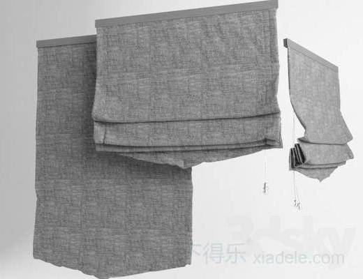 现代窗帘, 布艺窗帘, 纯色, 窗帘, 现代简约