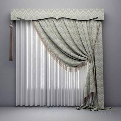 现代窗帘, ?#23478;?#31383;帘, 窗帘, 现代简约