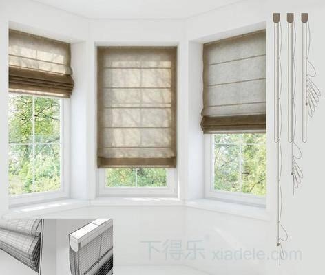 窗帘, 帆布, 百叶窗帘, 卷帘, 现代窗帘