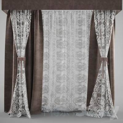 现代窗帘, 百叶窗帘, 帆布, 蕾丝, 碎花, 窗帘