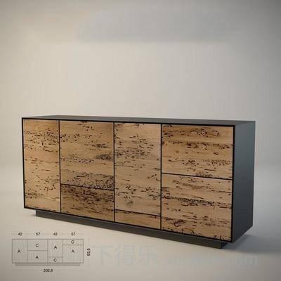 撞色, 端景柜, 抽屉柜, 长方形, 木质, 方形, 金属, 白色, 收纳柜, 柜子