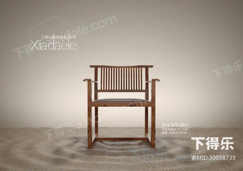 首页 素材库 素材列表 单体模型 原创模型 > 椅子  类型椅子/ 分享者&