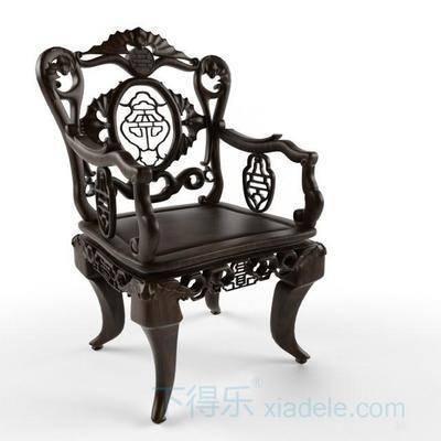 新中式, 现代椅子, 单体, 原木, 太师椅, 椅子