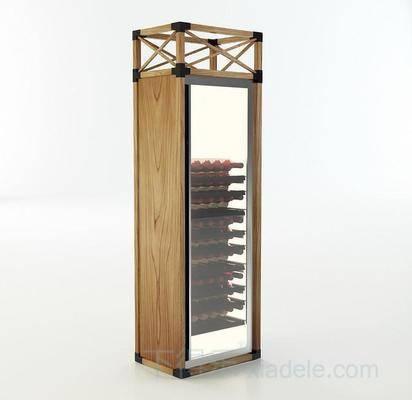 收藏柜, 酒品展柜, 红酒柜, 蜂窝, 酒柜, 柜子, 立式酒柜, 镜面门, 现代, 现代酒柜