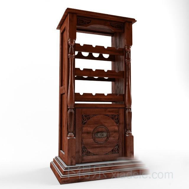 欧式古典酒 柜