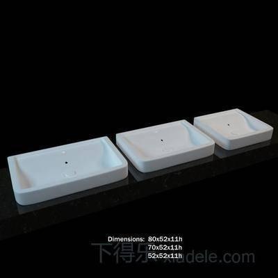 鹅蛋型, 浅窝, 椭圆形, 盥洗台, 水龙头, 洗手池, 陶瓷, 方形, 金属, 白色, 圆形