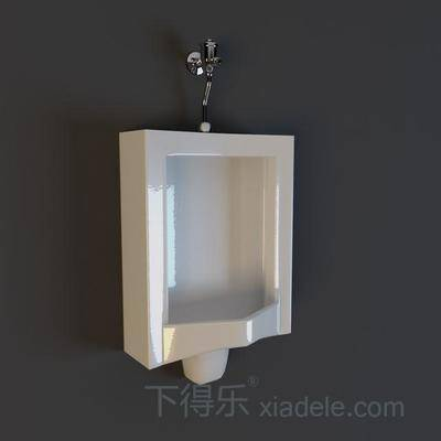 小便器, 純色, 陶瓷, 衛浴, 衛生間, 方形, 白色