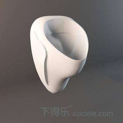 小便器, 纯色, 陶瓷, 卫浴, 卫生间, 方形, 白色