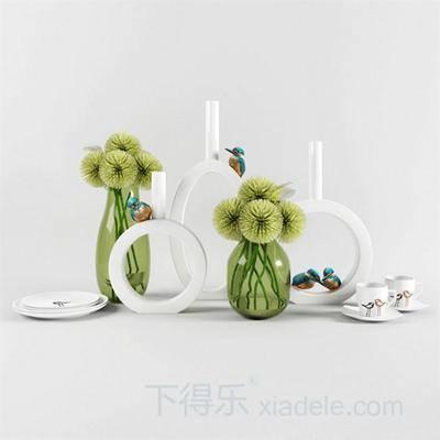 瓷器, 艺术品, 陶罐, 陶瓷, 花瓶, 装饰品, 软装, 陈列品