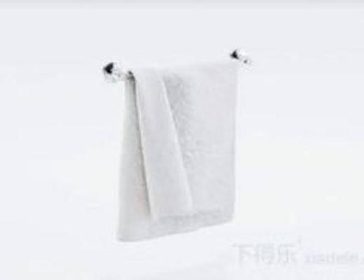 洗浴用品, 毛巾架, 不锈钢, 模型
